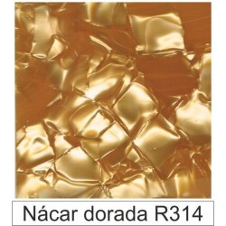 1/10 Acetato color Nácar dorada  R314