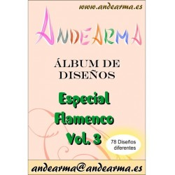 Álbum de diseño - Flamenco 3