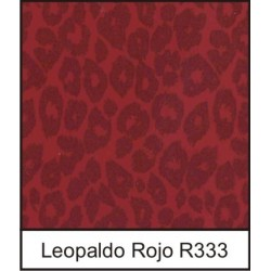 1/10 Acetato color Leopaldo Rojo R333