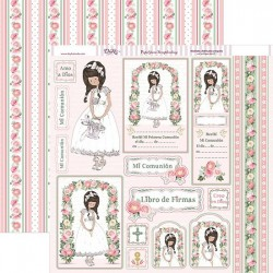 Papel Scrap Decorado