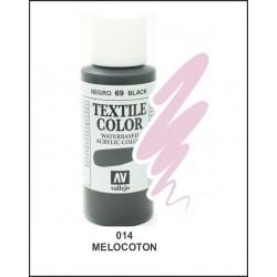 Pintura Textil Color Melocoton Nº 014