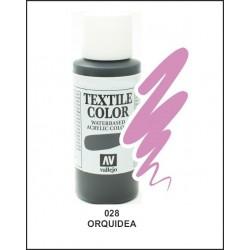 Pintura Textil Color Orquidea Nº28