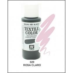 Pintura Textil Color Rosa Claro Nº029