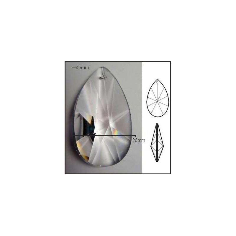 Lagrima de cristal de 37*20mm