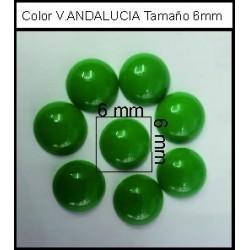Cabuchón V.Andalucia 6 mm(50 Uds)