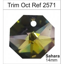 Swarovski Trim Octogonal 2552(20 Uds)