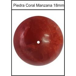 Piedra Coral Manzana 18mm
