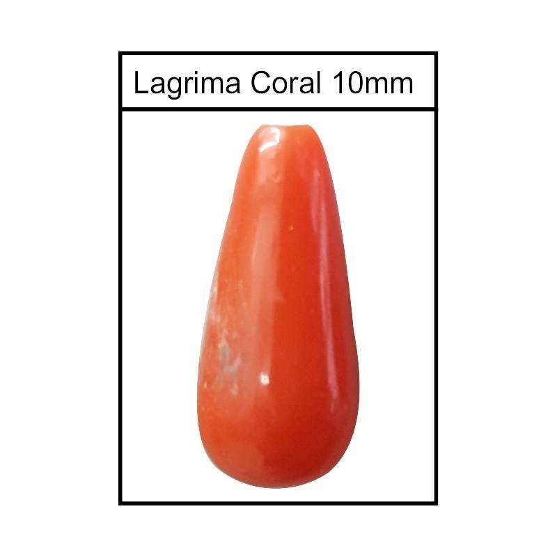 Lagrima Coral 10mm