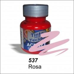 Pintura acrilex 37ml. Rosa