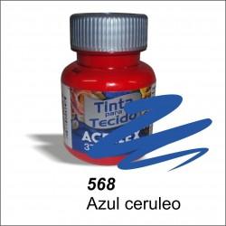 Pintura acrilex 37ml. Azul cerúleo