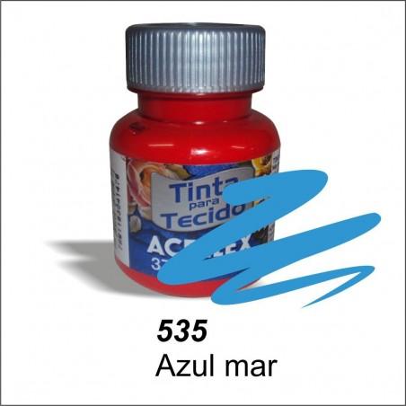 Pintura acrilex 37ml. Azul mar