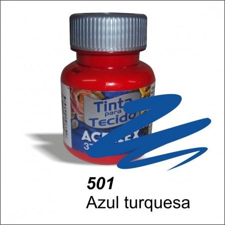 Pintura acrilex 37ml. Azul turquesa