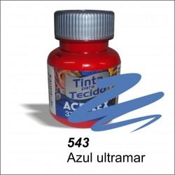 Pintura acrilex 37ml. Azul ultramar