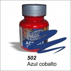 Pintura acrilex 37ml. Azul cobalto