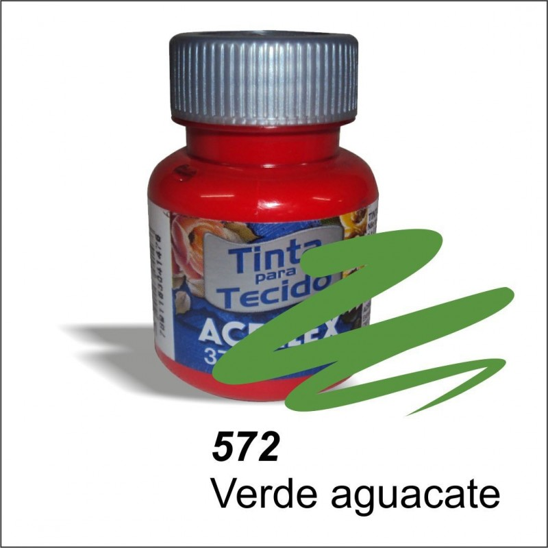Pintura acrilex 37ml. Verde aguacate