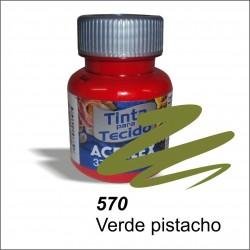 Pintura acrilex 37ml. Verde pistacho