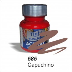 Pintura acrilex 37ml. Capuchino