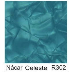 1/10 Acetato color Nácar celeste R302