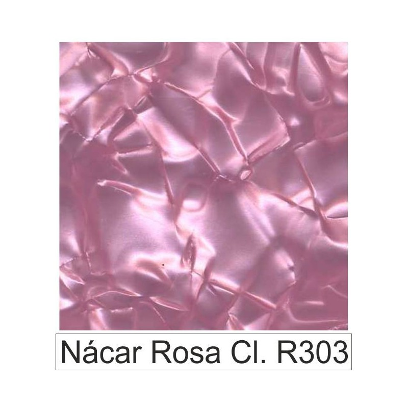 Acetato celulosa Nácar rosa claro R303