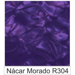 1/10 Acetato color Nácar morado R304