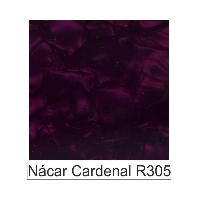 Acetato celulosa Nácar cardenal  R305