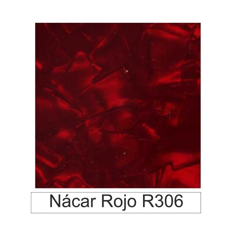 Acetato celulosa Nácar rojo R306