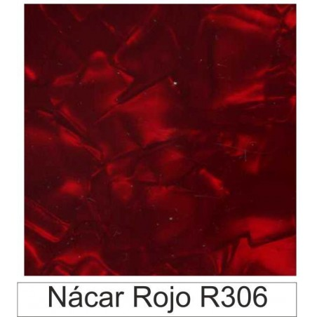 1/10 Acetato color Nácar rojo R306