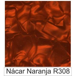 1/10 Acetato color Nácar naranja  R308