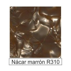 1/10 Acetato color Nácar marrón R310