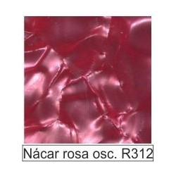 1/10 Acetato color Nácar rosa oscuro R312