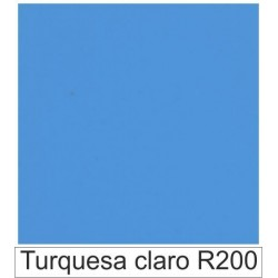 1/10 Acetato color Turquesa claro R200