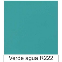 1/10 Acetato color Verde agua R222