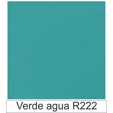 1/10 Acetato color Verde agua R222