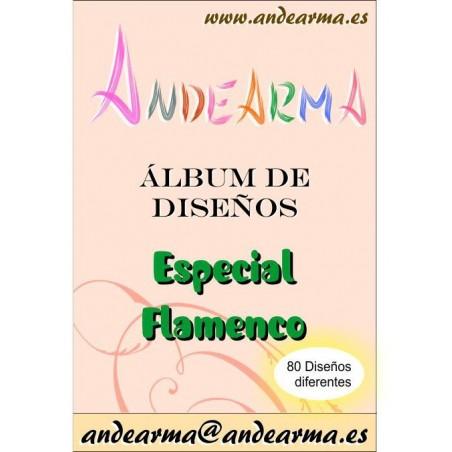 Álbum de diseños - Flamenco 1