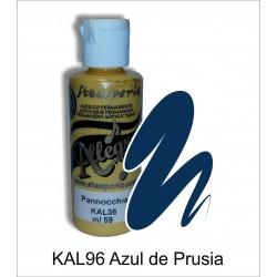 Pintura Allegro 59ml. Azul de Prusia