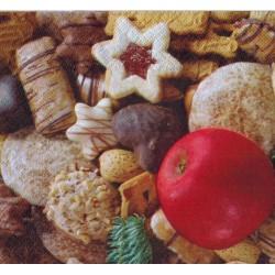 Servilleta decorada Navidad