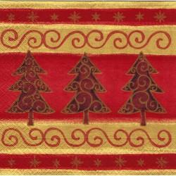Servilleta decorada Albol navideño