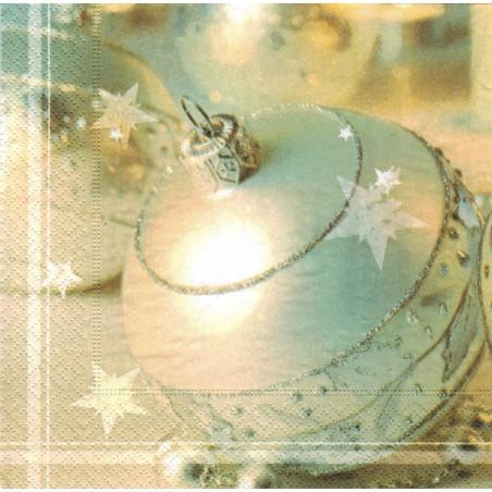 Servilleta decorada White Ball
