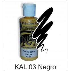 Pintura Allegro 59ml. Negro