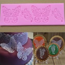 Molde silicona mariposa