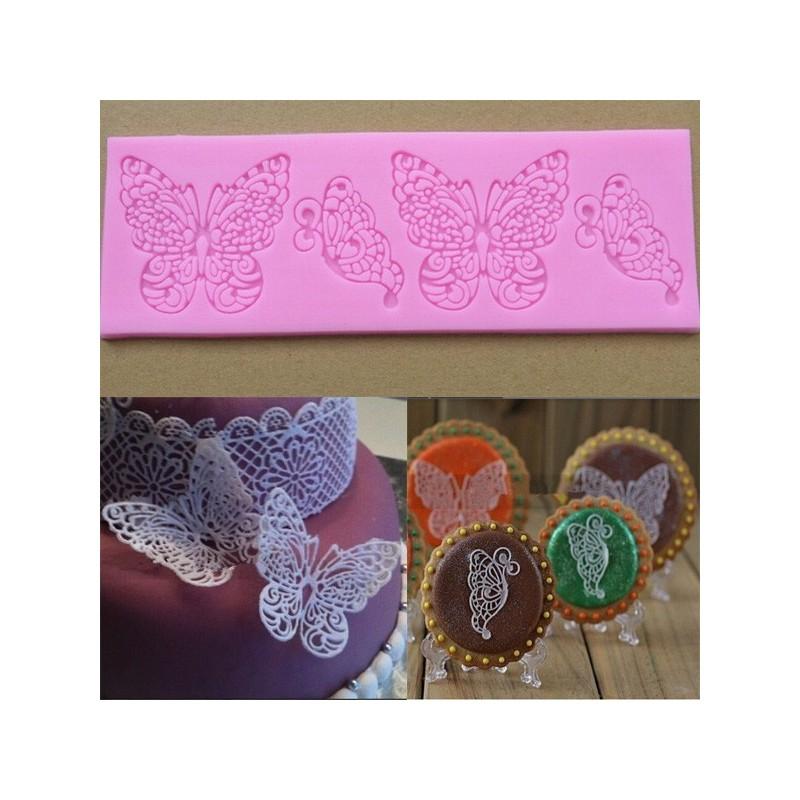 Molde silicona mariposa andaluza de arte y manualidades s l - Manualidades con silicona ...