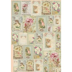 Papel Decoupage Decorado