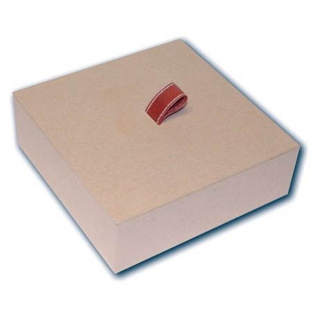 Caja cuadrada 16,5 x 16,5 x h6 cm.