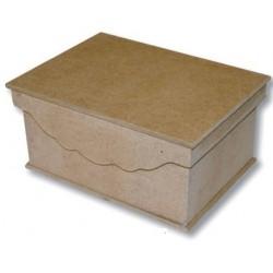 Caja cuadrada 14,9x14,9xh8 cm