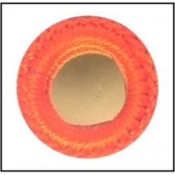 Espejo de crochet de 1.5 cms (Naranja)