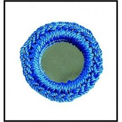 Espejo de crochet de 1.5 cms
