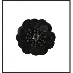 Flor de lentejuela de 1.5 cms (Amarillo)