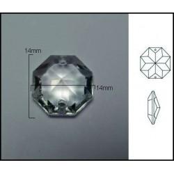 Pieza de cristal de 14*14mm