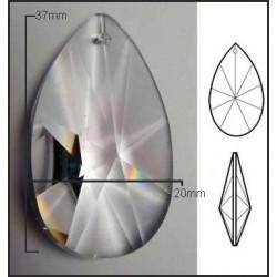 Lagrima de cristal de 38*27mm