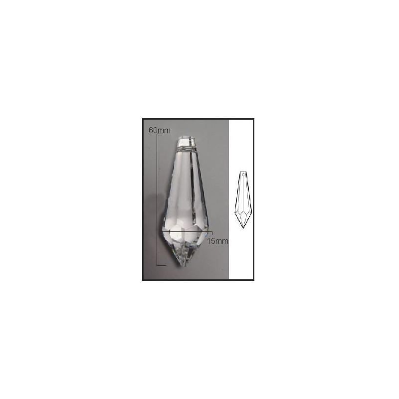 Lagrima de cristal de 60*10mm